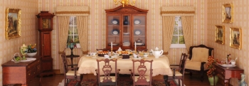 Chippendale dining room