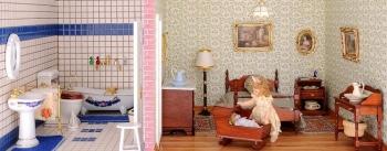 Kinderzimmer mit Bad