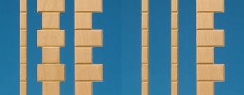Fassadenteile