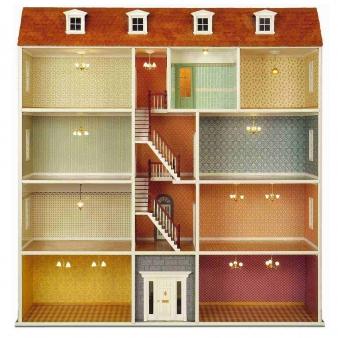 Large townhouse - Building element set