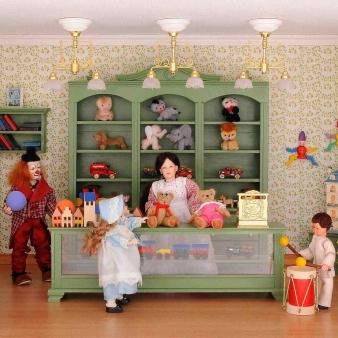 Bausatz Set - Spielzeugladen - inklusive Lackdose