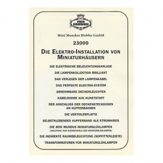 Anleitung - Elektroinstallation (DE)
