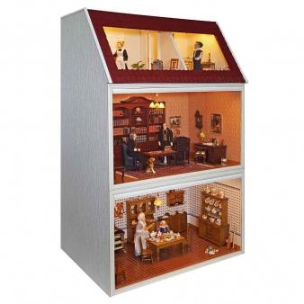 MODULE BOX HOUSE with Top floor and studio window