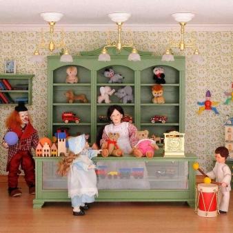Bausatz-Set - Spielzeugladen - inklusive Lackspray