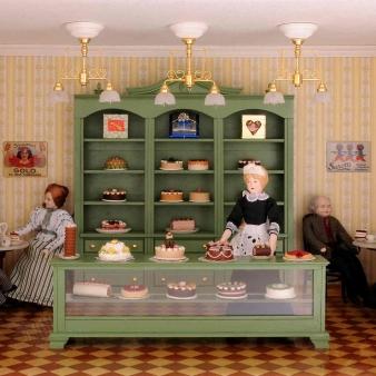 Bausatz-Set - Café und Konditorei - inklusive Lackspray