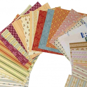 Wallpaper pattern book