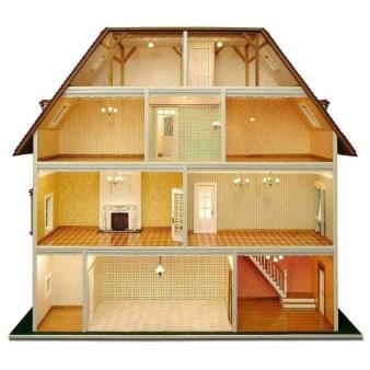 Villa Tara - Building element set