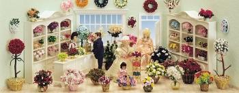 Flower salon