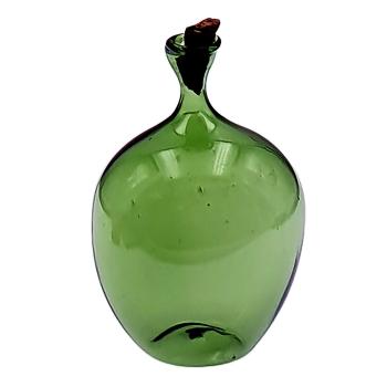 Grüne Ballonflasche mit Korken
