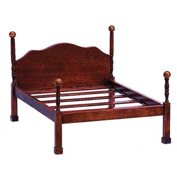 Chippendale Baldachin Doppel-Bett