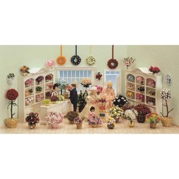 Bausatz-Set - Blumengeschäft