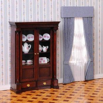 Biedermeier display cabinet