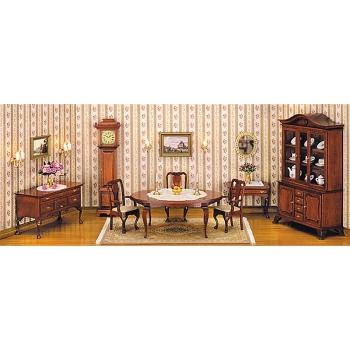Queen-Anne Speisezimmertisch