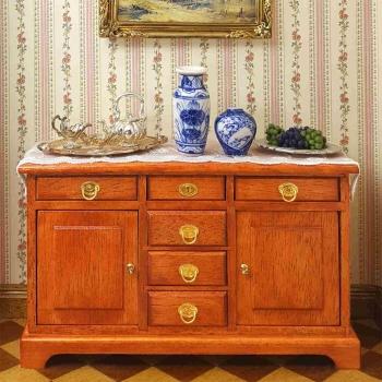 Complete set – Biedermeier dining room, incl. accessories