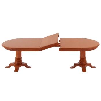 Biedermeier Esszimmertisch mit Einlegeplatte