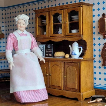 Complete set – Antique kitchen with stove