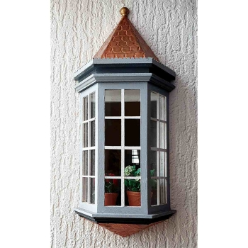 Victorian bay window