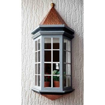 Viktorianischer Erker, Acryl-Glas
