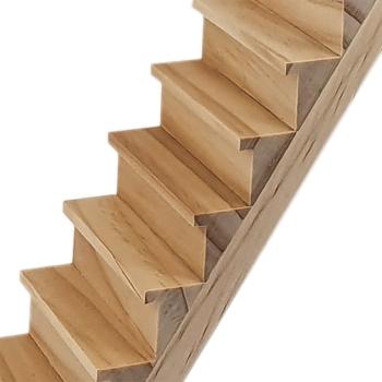 Geradläufige Treppe, 280 mm