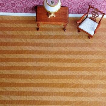 Real wood veneer Fishbone pattern