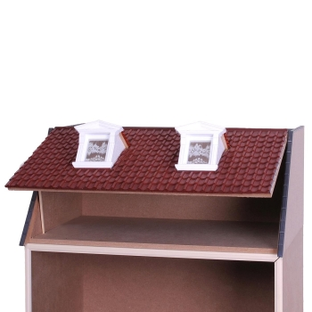 MODULE BOX HOUSE with roof dormers