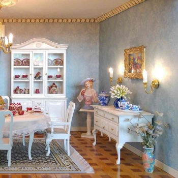 Furniture construction set - English dining room