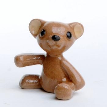 Teddybär, Porzellan, handgefertigt