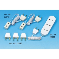 Miniature plugs, 6 pieces