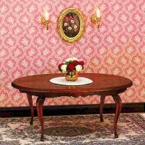 Queen-Anne dining room table