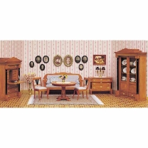Complete set – Biedermeier room, incl. accessories
