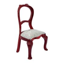 Polsterstuhl / Caféhaus-Stuhl, mahagoni