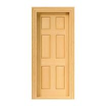 Paneel-Tür, Naturholz