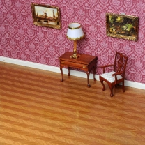 Real wood veneer Fishbone pattern