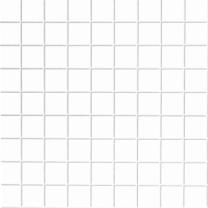 White square tiles, embossed
