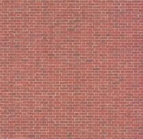 Red brick, embossed