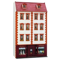 Bauanleitung - Kleines Stadthaus mit Ladengeschoss