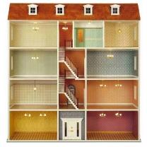 MDF construction kit - Large townhouse