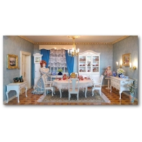 Furniture construction set - English dining room