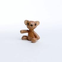 Teddy Bear, porcelain, handmade