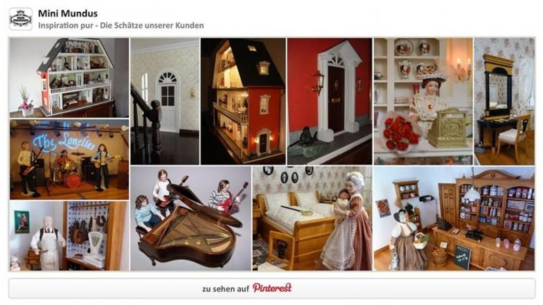 Lassen Sie sich inspirieren von unserer Bildergalerie auf Pinterest