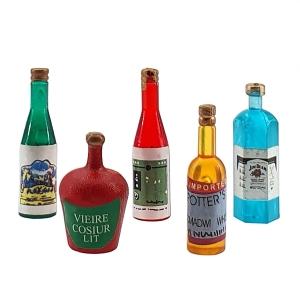 Liquors, 5 bottles
