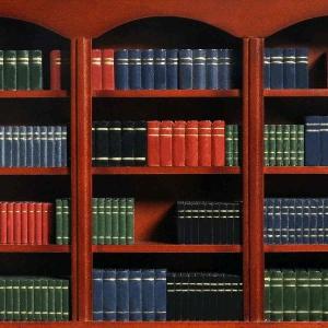 Buchattrappen aus Holz