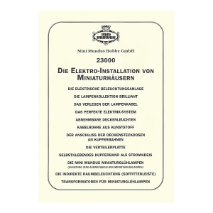 Instructions - Electrical installation