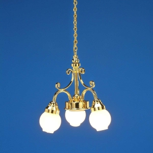3-lamp chandelier, MiniLux