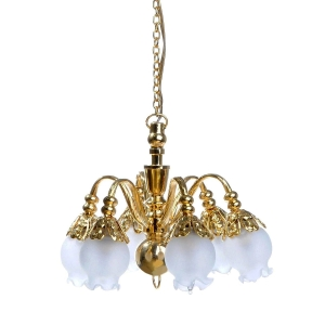 6-lamp chandelier, MiniLux