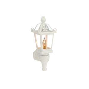 Carriage lamp, white, MiniLux