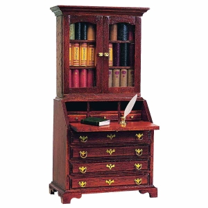 Chippendale secretary attachment, 2-door