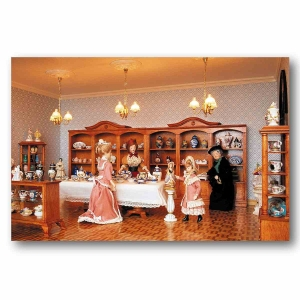 Furniture construction set - porcelain shop