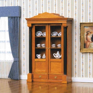 Biedermeier display cabinet