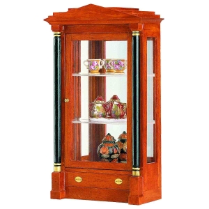 Biedermeier glass cabinet